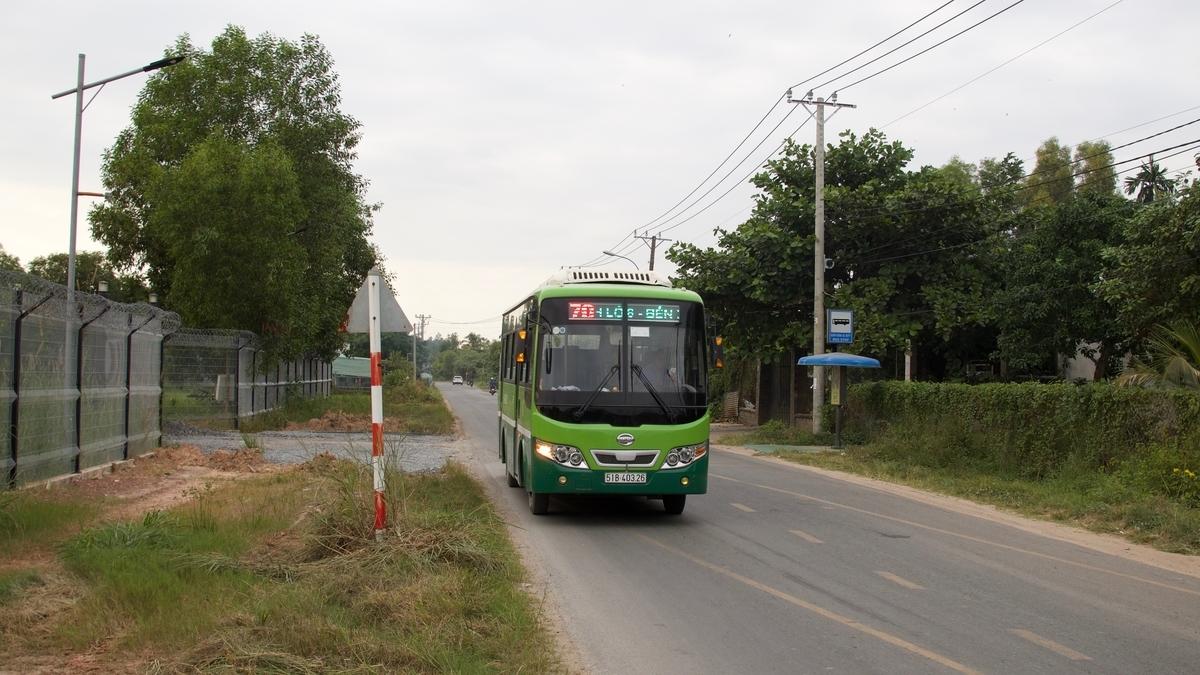 70番のバス