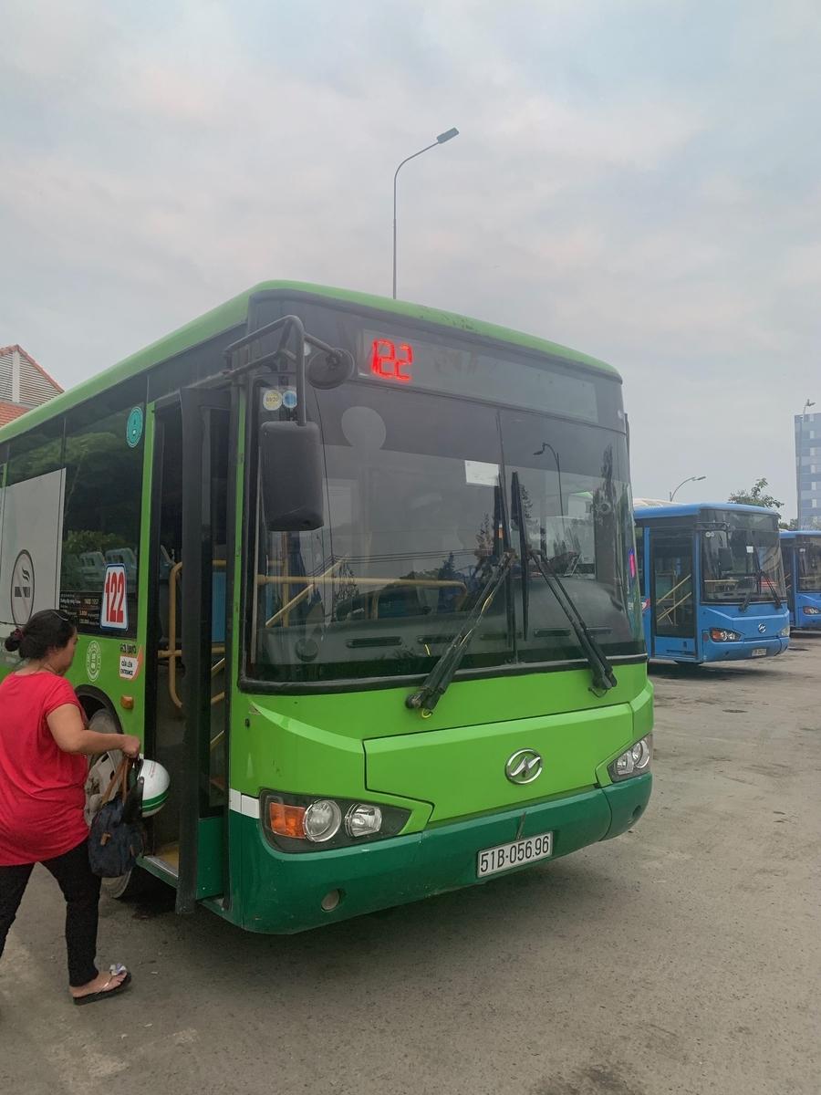 122番のバス