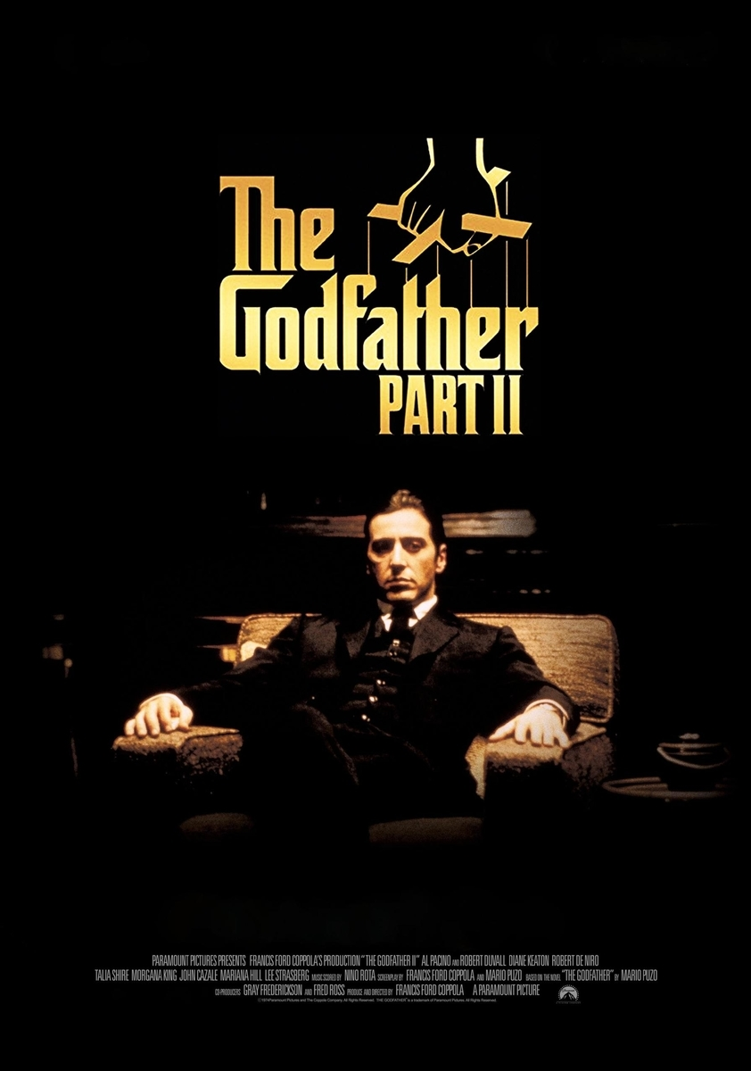The Godfather Part II/ ゴッドファーザーPART II (1974) 72点 - Gの ...