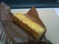[チーズケーキ]同僚からもらったチーズケーキ