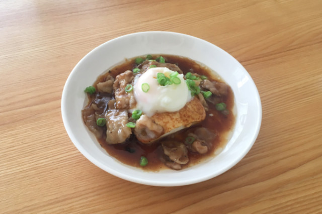 山本ゆりさんの豆腐ステーキレシピ