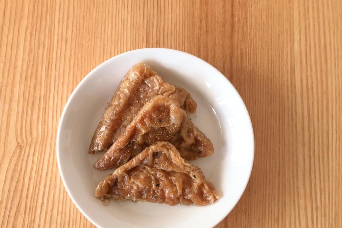 山本ゆりさんのレンジレシピ、あっという間にできる甘いお揚げ