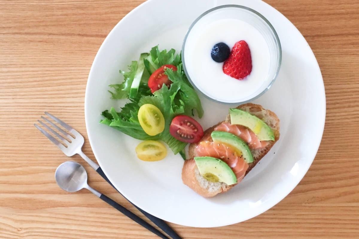 フランスの朝食の定番タルティーヌを使ったワンプレート朝ごはん