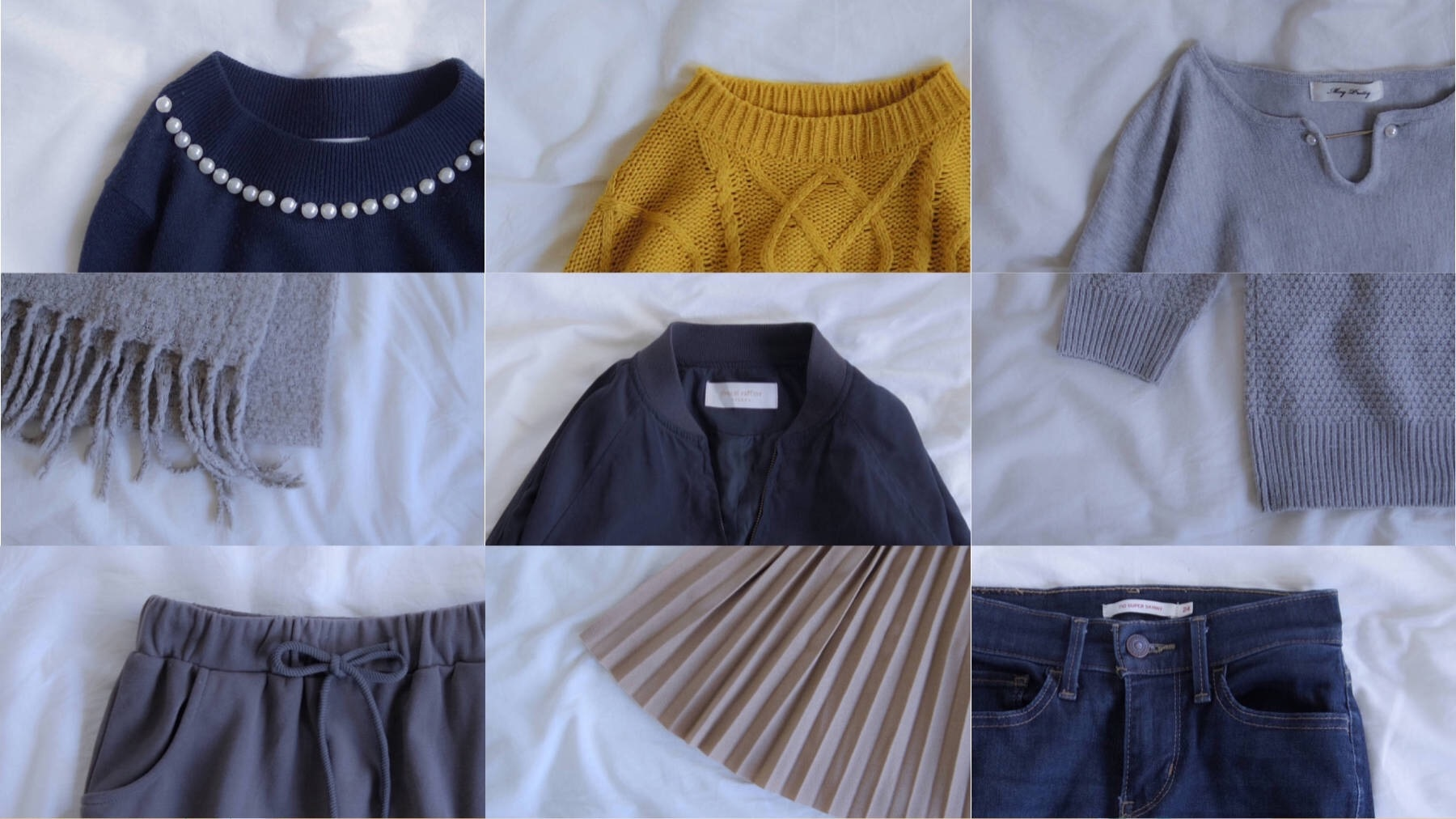 ミニマリストの私服のすべて。写真一覧