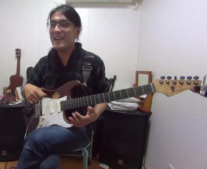 ギターレッスン教室 神戸・大阪 スライド奏法をしようした演奏
