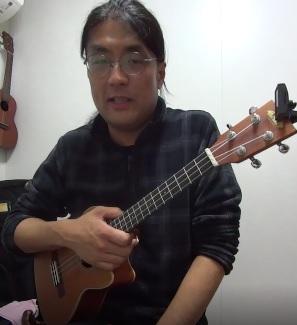 ウクレレ個人レッスン教室 神戸・大阪 『いい日旅立ち』初心者のための弾き方演奏動画