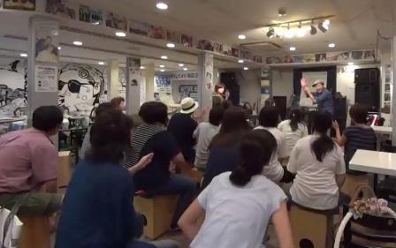 カホン演奏 イベント 叩き方レクチァーワークショップ 神戸~大阪
