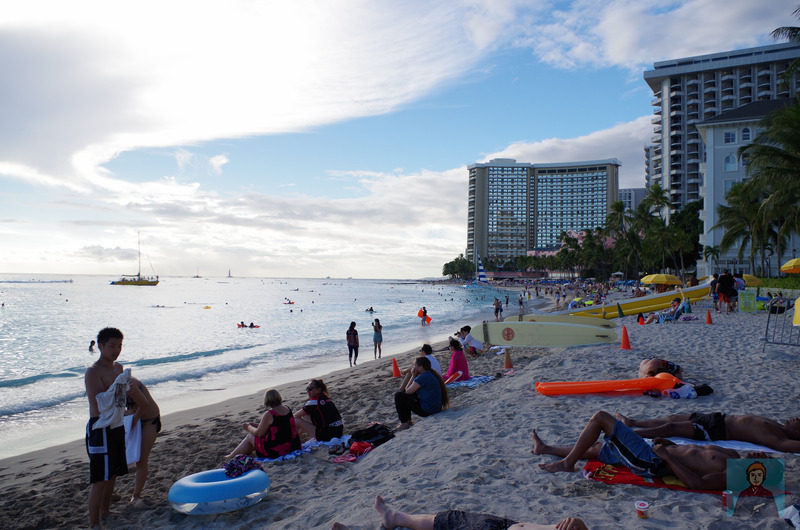 ハワイビーチ-4356