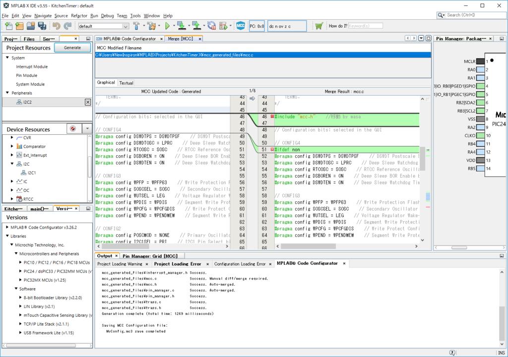 キッチンタイマーの製作(3)I2CでLCDの制御 - 組込み系システム開発室