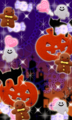 ハロウィン(かぼちゃとおばけとお菓子)