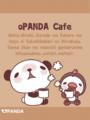 パンダと小鳥(カフェ)