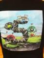 CS5のTシャツ。アドベ本国の方がくれたので多分非売品のノベルティか