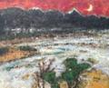 南アルプス追想(三日月) F100 2006