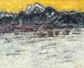 甲斐駒雪景色 F100 2007