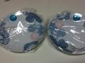 ノリタケの皿二枚セット発見。福袋のか…?