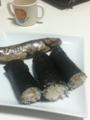 巻き寿司、イワシの丸干し
