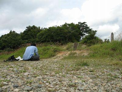 愛染峠に居座る本名荒井