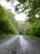 大師峠付近の未舗装路