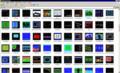入力済み投稿プログラムのスクリーンショットフォルダ