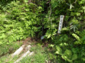 亀割山登山口弁慶の清水