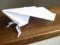 足の生えた紙飛行機