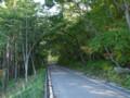 緑のトンネル・馬形ゲート付近