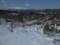 尾畑山から見る月山の図