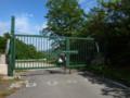 いつもの二口林道県境ゲート