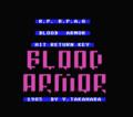 「BLOOD ARMOR」 by 高原保法