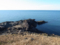 十六羅漢公園から海を見るの図