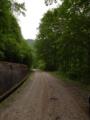 旧大師峠付近の未舗装区間