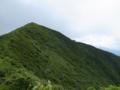神室山山頂と避難小屋
