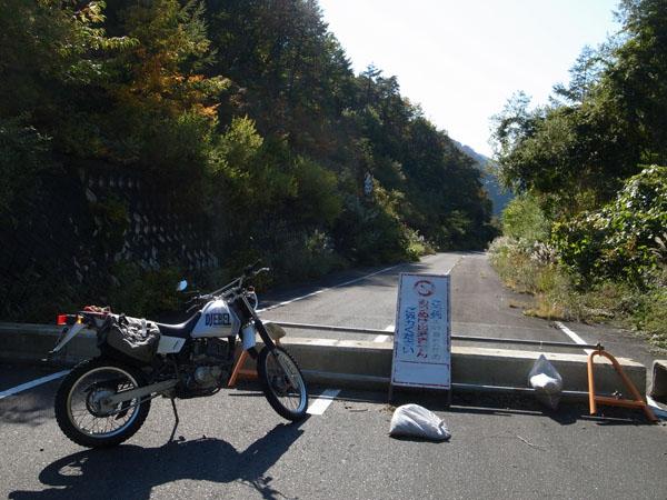 二井宿峠の旧道も(泣)