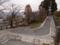 上山城のヘアピンカーブ