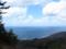 頂上付近から小波渡・堅苔沢方面を見るの図