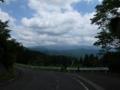 十王峠から月山は見えなかったぜ