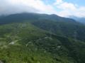 笹谷峠で一休み
