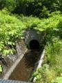 横川堰の隧道