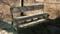 高館山山頂のベンチ