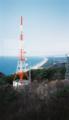 高館山展望塔からの光景