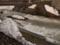 増水した銅山川