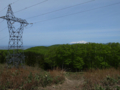 10番鉄塔と鳥海山