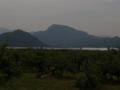 若木近辺から見る水晶山の図