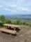 富神山山頂の図