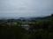 石崎山から東根市街地方面を見るの図