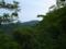 楠峰付近から見る御所山の図