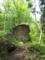 楯山のビッキ岩