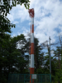 東楯山の航空障害灯