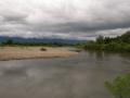 白川と松川合流地点