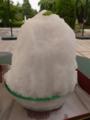 ほんとに真っ白白蜜かき氷